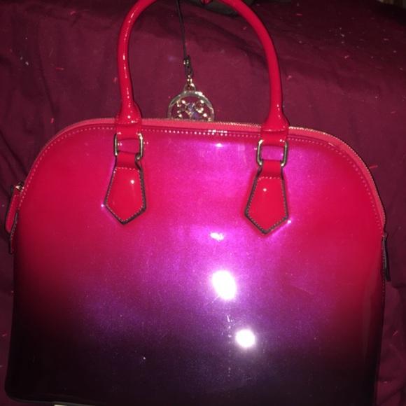 VIETA Fashion Handbags - VIETA Red graduating color Pocketbook